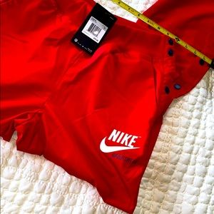Nike XS RED Pants snap on